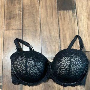 Torrid black lace 40 DDD bra